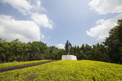 China Guangdong Shenzhen Lotus Hill Park hilltop statue of Deng Xiaoping Stock Image