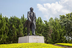 China Guangdong Shenzhen Lotus Hill Park hilltop statue of Deng Xiaoping Stock Images