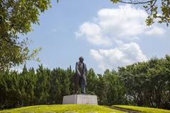 China Guangdong Shenzhen Lotus Hill Park hilltop statue of Deng Xiaoping Stock Photography