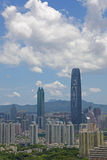 China Guangdong Shenzhen Luohu cityscape Stock Photo