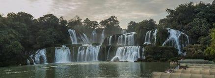 China  Guangxi  Detian Falls. China  Guangxi  Chongzuo City  Daxin County  Detian Falls  natural  landscape Stock Photo