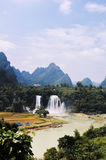 China Guangxi Detian Waterfall Stock Images