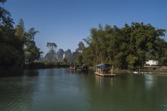 China Guangxi Mingshi Hirten Lizenzfreies Stockbild