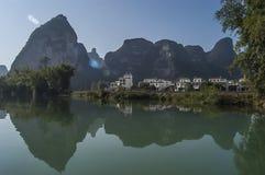 China  Guangxi  Mingshi pastoral Stock Photo