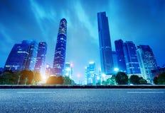 China Guangzhou Night Stock Photo