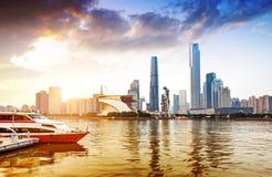 China Guangzhou Urban Landscape Royalty Free Stock Photography