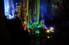China Guilin caves Stock Photography