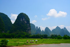 China Guilin Li River Cruise Stock Photo