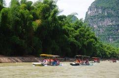 China Guilin Li River Cruise Royalty Free Stock Photo