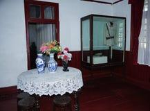China Guilin Li Tsung-jen's residence - when the Republic Presidential PalaceSix sets of photos--Restaurant. Li Tsung-jen (1891-1969), Guangxi Guilin, New Gui stock images