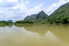 China Guilin Yangshuo guilin lijiang river River royalty free stock image
