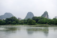 China Guilin Yangshuo guilin lijiang river River royalty free stock photography