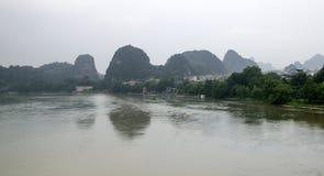 China Guilin Yangshuo guilin lijiang river River royalty free stock photos