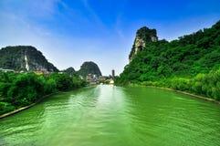 China Guillin Seven Star Park and Karst rocks Yangshuo Stock Photo