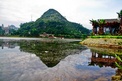 China guizhou anshun city reservoirs Stock Image