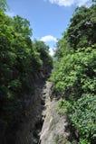 China guizhou anshun, star ferry bridge huangguoshu waterfall scenic area natural scenery Stock Image