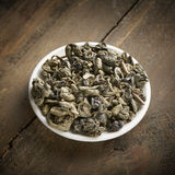 China gun powder tea Royalty Free Stock Photography