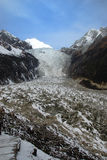 China - HaiLuoGou glaciers. In the summer Royalty Free Stock Photography