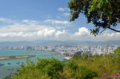 China Hainan island, city of Sanya Royalty Free Stock Photo