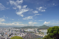 China Hainan island, city of Sanya Stock Image