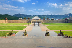 China Han Qin Palace Royalty Free Stock Photos
