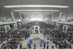 China Hangzhou East Railway Station stock photo