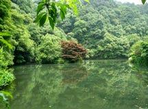 China Hangzhou neun Ströme, longjing Lizenzfreies Stockbild