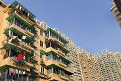 China, Hangzhou - residential buildings Stock Images
