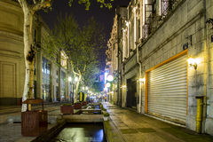 China Hangzhou. Southern Song imperial Street stock images