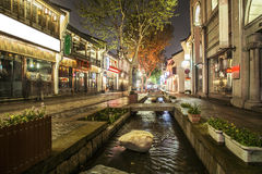 China Hangzhou Southern Song imperial Street. China has a long history of ancient buildings royalty free stock image