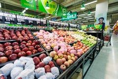 China hangzhou wal-mart  supermarket retail  goods Stock Images