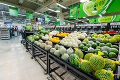 China hangzhou wal-mart supermarket  retail items fruit Stock Image