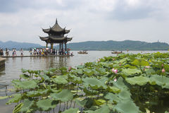 China Hangzhou West Lake royalty free stock photos