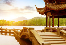 China Hangzhou West Lake Landscape Stock Images