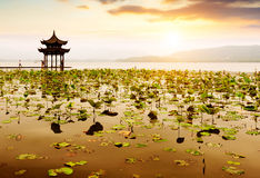 China Hangzhou West Lake Landscape Royalty Free Stock Photos