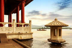 China Hangzhou West Lake scenery Stock Photos