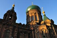 China Harbin Church. The Far East's largest Orthodox Church Stock Photography