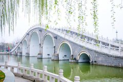 China Henan tourist attractions Kaifeng Qingming River park. Royalty Free Stock Photography