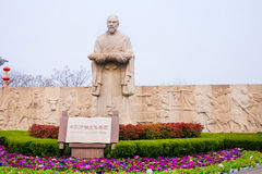 China Henan tourist attractions Kaifeng Qingming River park. Stock Image