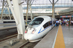 China high -speed rail Royalty Free Stock Photography