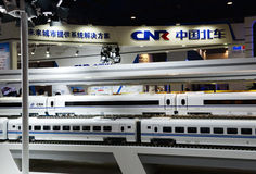 China high-speed railway Royalty Free Stock Images