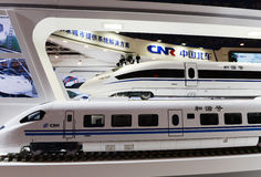 China high speed Train Royalty Free Stock Image