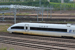 China High Speed train Royalty Free Stock Photography