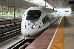 China-Hochgeschwindigkeitszug lizenzfreies stockbild