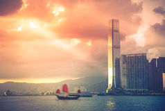 China Hong Kong Imágenes de archivo libres de regalías