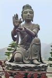 China, Hong Kong,. Goddes at the monument of the big Buddha on Lantau island Royalty Free Stock Image