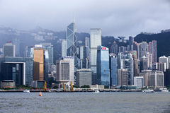China, Hong Kong Victoria Harbour Island Coast building. China, Hong Kong Victoria Harbour Island Coast building, City, scenery Stock Photography
