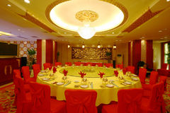 China hotel renovation. China Changsha modern luxury decoration of the hotel Royalty Free Stock Images