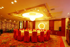 China hotel renovation. China Changsha modern luxury decoration of the hotel Stock Photography