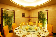 China hotel renovation. China Changsha modern luxury decoration of the hotel Stock Images